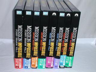 (LD)スパイ大作戦 LD-BOX全8巻セットの商品画像
