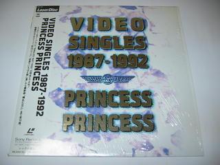 (LD:レーザーディスク)PRINCESS PRINCESS/VIDEO SINGLES 1987-1992【中古】