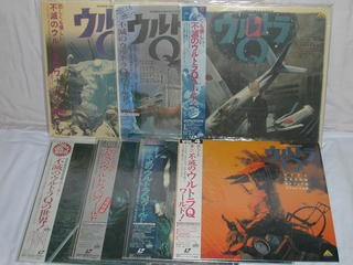 (LD)ウルトラQ 全7巻セットの商品画像