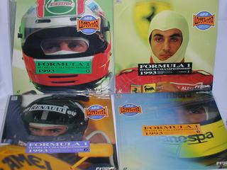 (LD:レーザーディスク)F−1グランプリ1993 ワールドチャンピオンシップラウンド1〜8 全8巻セット【中古】