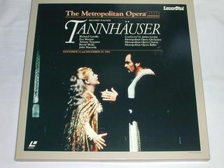 (LD:レーザーディスク) ワーグナー:歌劇「タンホイザー」全三幕 レヴァイン指揮【中古】