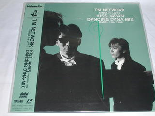 (LD:レーザーディスク)TM NETWORK/FANKS the LIVE2 KISS JAPAN DANCING DYNA-MIX【中古】