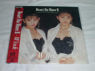 "(LDS:シングルレーザーディスク)ウィンク Wink ""Heart On Wave II""【中古】"