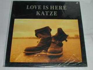 (LD:レーザーディスク)KATZE LOVE IS HERE【中古】