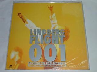 (LD:レーザーディスク)LINDBERG FLIGHT 001 -BOUND TO the Dream【中古】