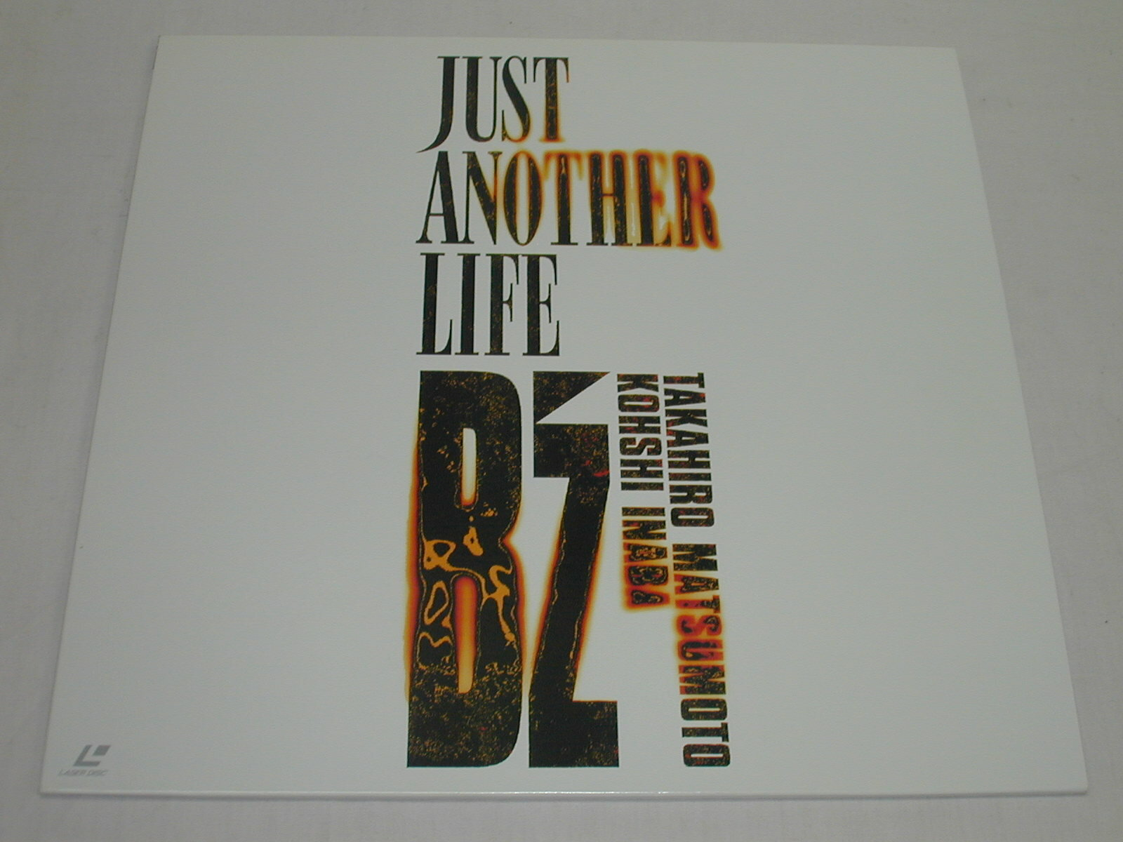 (LD:レーザーディスク) B'z/JUST ANOTHER LIFE【中古】
