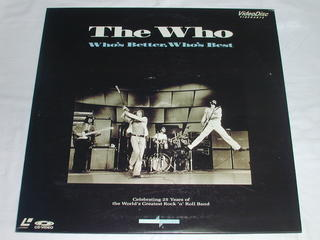 (LD:レーザーディスク)The Who Who's Better,Who's Best【中古】