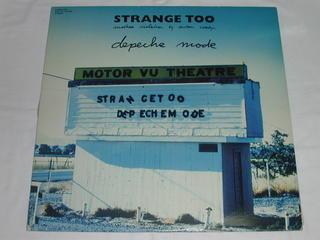 (LD:レーザーディスク)STRANGE TOO depeche mode【中古】