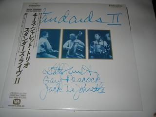 (LD:レーザーディスク)キース・ジャレット・トリオ スタンダーズ・ライヴII【中古】