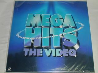 (LD:レーザーディスク)MEGA HITS THE VIDEO メガ・ヒッツーザ・ビデオ〜インターナショナル・ポップス・ナウ!【中古】