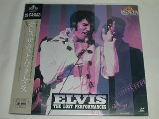 (LD:レーザーディスク)エルヴィス/ザ・ロスト・パフォーマンス ELVIS THE LOST PERFORMANCES【中古】