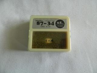 ☆☆【未使用品】ナガオカ 87-34 TRIO N-34 レコード針 交換針 NAGAOKA diamond stylus