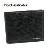 【送料無料】 【新品】【即発送可能】DOLCE&GABBANA/ドルチェ&ガッバーナ(ドルガバ) 二つ折り小銭入れ付メンズ財布 BP0457 A1503 80999