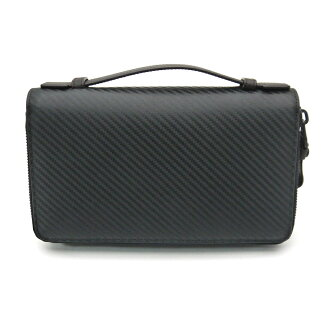 Dunhill /dunhill wallet with a fastener and CHASSIS chassis L2J214A travel case travel companion