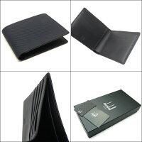 【セール】【即発送可能】ダンヒル/dunhill二つ折りカード付財布・CHASSISシャーシL2V530NNAVYネイビー