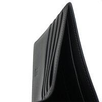 【セール】【即発送可能】ダンヒル/dunhill二つ折りカード付財布・CHASSISシャーシL2V530Vディープグリーン