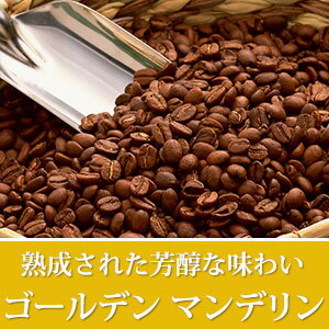 ゴールデンマンデリン ストレート コーヒー