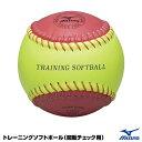 ソフトボール用品 ミズノ(MIZUNO) 【1BJBS85200】 トレーニングソフトボール(回転チェック用) 16SS