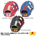 【あす楽対応】ワールドペガサス(WORLD PEGASUS) WGNS8F65 軟式 ソフトボール兼用グラブ(オールラウンド用) グランドデビル 野球用品 グローブ 2018FW