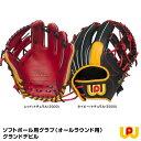 【あす楽対応】ワールドペガサス(WORLD PEGASUS) WGSGD965 ソフトボール用グラブ(オールラウンド用) グランドデビル 20 OFF 野球用品 グローブ 2019SS