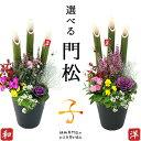 選べる門松『 お正月寄せ植え 』 正月飾り 玄関 門松 アレ...