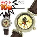 【ミッキーマウス 腕時計】ディズニー/アンティーククレッグ革ウォッチ(ミッキー)WD-B01-MK 【ディズニー 腕時計 ディズニー 時計 disney 腕時計 Mickey Mouse ディズニーグッズ ディズニー グッズ ミッキー 時計 誕生日プレゼント ディズニー プレゼント】