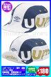 ◆メール便可◆【UMBRO】アンブロ サッカーキャップ(ジュニア用 サッカー帽子)〔UJS2608J WHT〕※ゆうメール限定送料無料(期間限定)