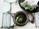 【お茶の辻峰園謹製】上級煎茶粉△(三角)ティーバッグ4.5g×8袋入×10セット