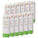 【  】デカフェアイスコーヒーハウスブレンド1,000ml [無糖]×12本カフェインレス コーヒー / カフェインレス アイスコーヒー / ノンカフェイン アイスコーヒー