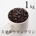 【 送料無料 】スマトラマンデリン1kg(200g×5袋)シングルオリジン コーヒー