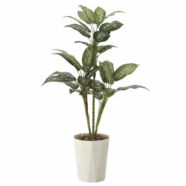 【sss】●き (送料無料) 光の楽園【619A120-39】ディフェンバキア90 92472 【ポイント10倍】インテリア も、空気も、きれいにする。光触媒人口植物 造花 観葉植物 アレンジメント おしゃれ かわいい 新築祝い 開店祝い 誕生日