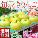 ≪送料無料≫青森産 「旬のときりんご」 【特A】9〜12玉 約3キロ frt ○