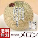 《送料無料》熊本県産 メロン(赤肉or青肉:ア...