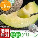 《送料無料》 熊本県八代産 超特大メロン 肥後グリーンメロン...