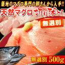 無選別 『天然マグロ』 切り落とし (メバチ・キハダ) 業務用500g!! ※冷凍 sea