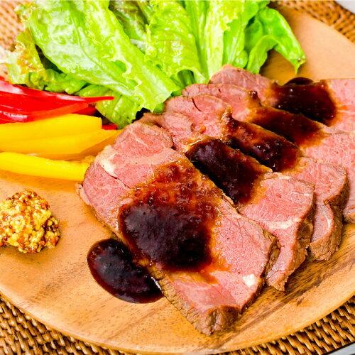 訳あり ローストビーフ ブロック 1本 400 〜 500g 切り落とし 霜降りモモ肉トモサンカクのデパ地下仕様ローストビーフ高品質なオーストラリア産牛モモ肉を国内加工 牛肉 オードブル 築地市場 ギフト   あす楽 rn