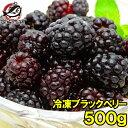 【送料無料】冷凍ブラックベリー 500g×1パック 弾けるブ...