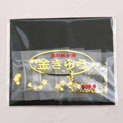 【ゆうパケット送料無料!】食用純金箔たっぷり5種類 300円セット_手作り/ケーキ/デコレ…...:tsukioka:10000118