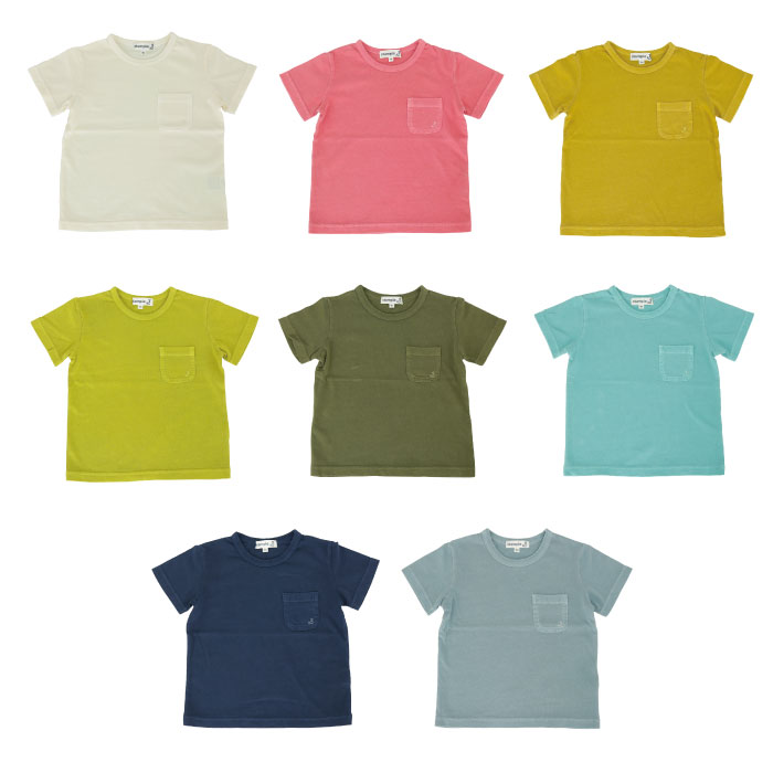スタンプル stample ヴィンテージ風Tシャツ 子供服 こども キッズ 男の子 女の子 春 シンプル 薄手 薄地 かわいい 子供 お揃い 半袖無地Tシャツ tシャツ 白 無地 トップス キッズ ジュニア レディース メンズ Tシャツ 入園 入学