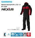 シマノ 防寒着 ネクサス DSプロテクティブスーツ RT-125P レッド XL(LL)