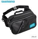 シマノ ヒップバッグ WB-021Q ブラック Sサイズ (...