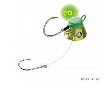 【シマノ】EK-002K  炎月一つテンヤマダイ てんや太軸仕様2号 05T グローゴールド