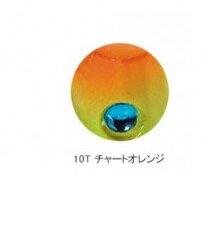 【シマノ】EK-002K  炎月一つテンヤマダイ てんや太軸仕様2号 10T チャートオレンジ