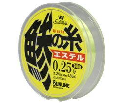【サンライン】 SaltiMate 鯵の糸 エステル 240m 0.25号