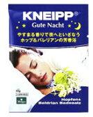 ドイツ製バスソルト KNEIPP クナイプ グーテナハト バスソルト 【ホップ&バレリアンの香り】 (40g) おやすみ前のやすらぎ入浴に ツルハドラッグ