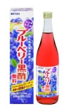 井藤漢方 ブルーベリー黒酢 飲料 【そのまま飲むストレートタイプ】 (720ml)