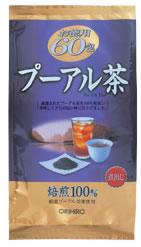 オリヒロ プーアル茶 お徳用 (60包) ツルハ...の商品画像