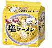 ノンフライ麺 マルちゃん 昔ながらの塩ラーメン 【鶏しお】 (5食入) ツルハドラッグ