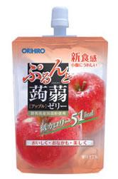 オリヒロ ぷるんと蒟蒻ゼリー 【アップル】 (130g) ツルハドラッグ