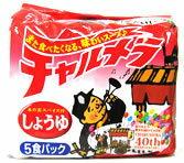 【◆】 明星 チャルメラ 【しょうゆ】 (5食入) ツルハドラッグ